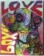 Boxer Love Fine-Art Print