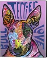 Bull Terrier Love Fine-Art Print