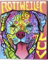 Rottweiler  Luv Fine-Art Print