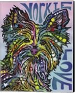 Yorkie Love Fine-Art Print