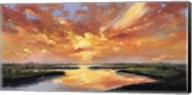 Sunset Reflection Fine-Art Print