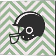 Eat Sleep Play Football - Green Part III Fine-Art Print