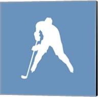 Hockey Player Silhouette - Part III Fine-Art Print