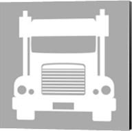 Front View Trucks Set I - Gray Fine-Art Print