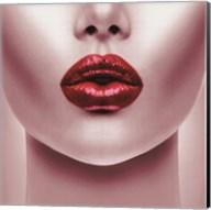 Red Lips Fine-Art Print