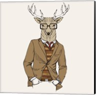 Deer-man Fine-Art Print
