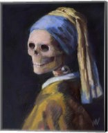 Skelly with a Pearl Earring Fine-Art Print
