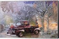 Christmas Truck Fine-Art Print