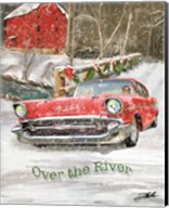 Chevy Christmas Over the River Fine-Art Print