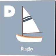 Transportation Alphabet - D is for Dinghy Fine-Art Print