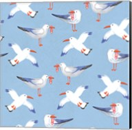 Coastal Birds Pattern II Fine-Art Print