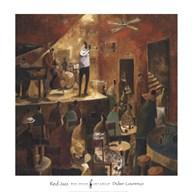 Red Jazz Fine-Art Print
