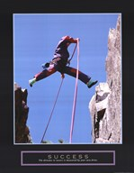 Success - Rock Jumper Fine-Art Print
