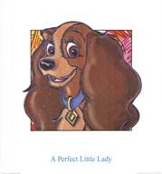 A Perfect Little Lady Fine-Art Print