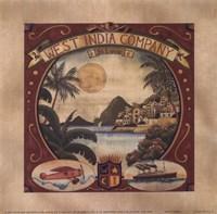 West India Framed Print