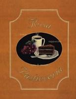 Rosa Pasticceria Framed Print
