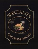 Specialita Gastronomiche Framed Print