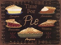 Time for Pie Framed Print