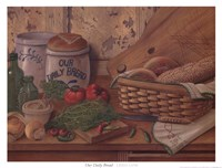 Our Daily Bread Framed Print