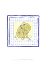 Frog with Plaid (PP) IV Framed Print