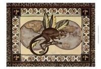 Large Tropical Monkey II Framed Print