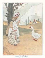 Goosey, Goosey, Gander Framed Print