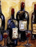 Wine Bar Framed Print