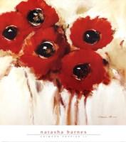 Crimson Poppies II Framed Print