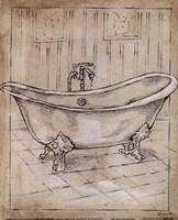 Bath Time II Framed Print