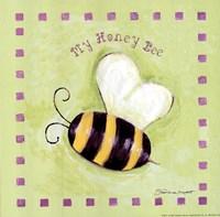 My Honey Bee Framed Print