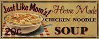 Chicken Noodle Soup Framed Print