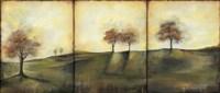 Autumnal Meadow II Framed Print