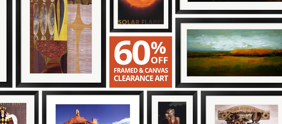 60 Off Framed Clearance