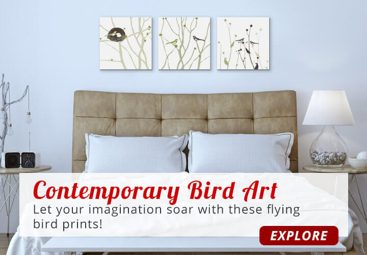 Contemporary Bird Art