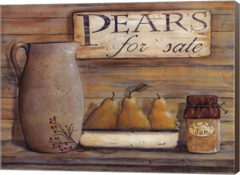 Framed Pears for Sale Print