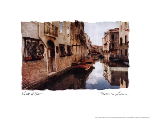 Framed Venice at Rest Print