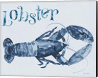 Beach House Kitchen Blue Lobster Fine-Art Print