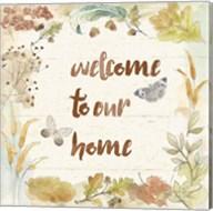 Woodland Wreath VI Home Fine-Art Print