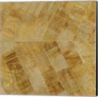 Gilded Herringbone II Fine-Art Print