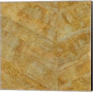 Gilded Herringbone I Fine-Art Print