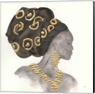 Headdress Beauty I Fine-Art Print