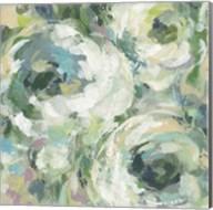 Sage and Lavender Peonies II Light Fine-Art Print
