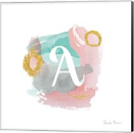 Abstract Monogram A Fine-Art Print