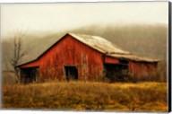 Skylight Barn in the Fog Fine-Art Print
