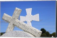 Crosses By The Sea Fine-Art Print