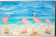 Flamingo Beach Fine-Art Print