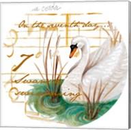 Seven Swans a-Swimming Fine-Art Print