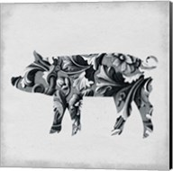Filigree Pig Fine-Art Print