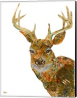 Retro Deer Fine-Art Print