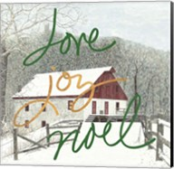 Love Joy Noel Fine-Art Print